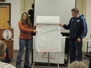 Redovisning av grupparbeten. Amy Breen och Aleksandr Sokolov.